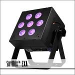 SkyBox EXA RGBAW+UV Color Mixing