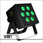 SkyBox5 7x 15-Watt 5-in-1 LED PAR Can