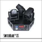 SwitchBlade X3 Triple Mini Moving Head Fixture