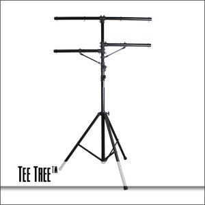 Tee Tree Lighting Stand with Crossbar & 2 Arms