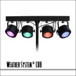 Weather System COB 4 Fixture LED Bar