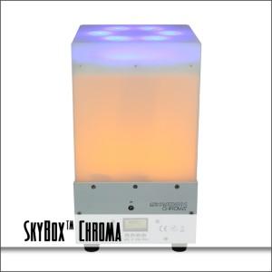 SkyBox™ Chroma Dual Layer LED Uplight