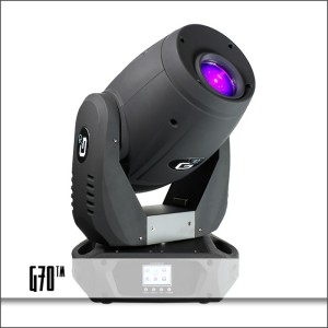 Blizzard Lighting G70™ Compact Intelligent Moving Head Fixture