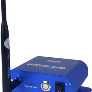 Lightcaster-WDMX-TX-Front-Angle