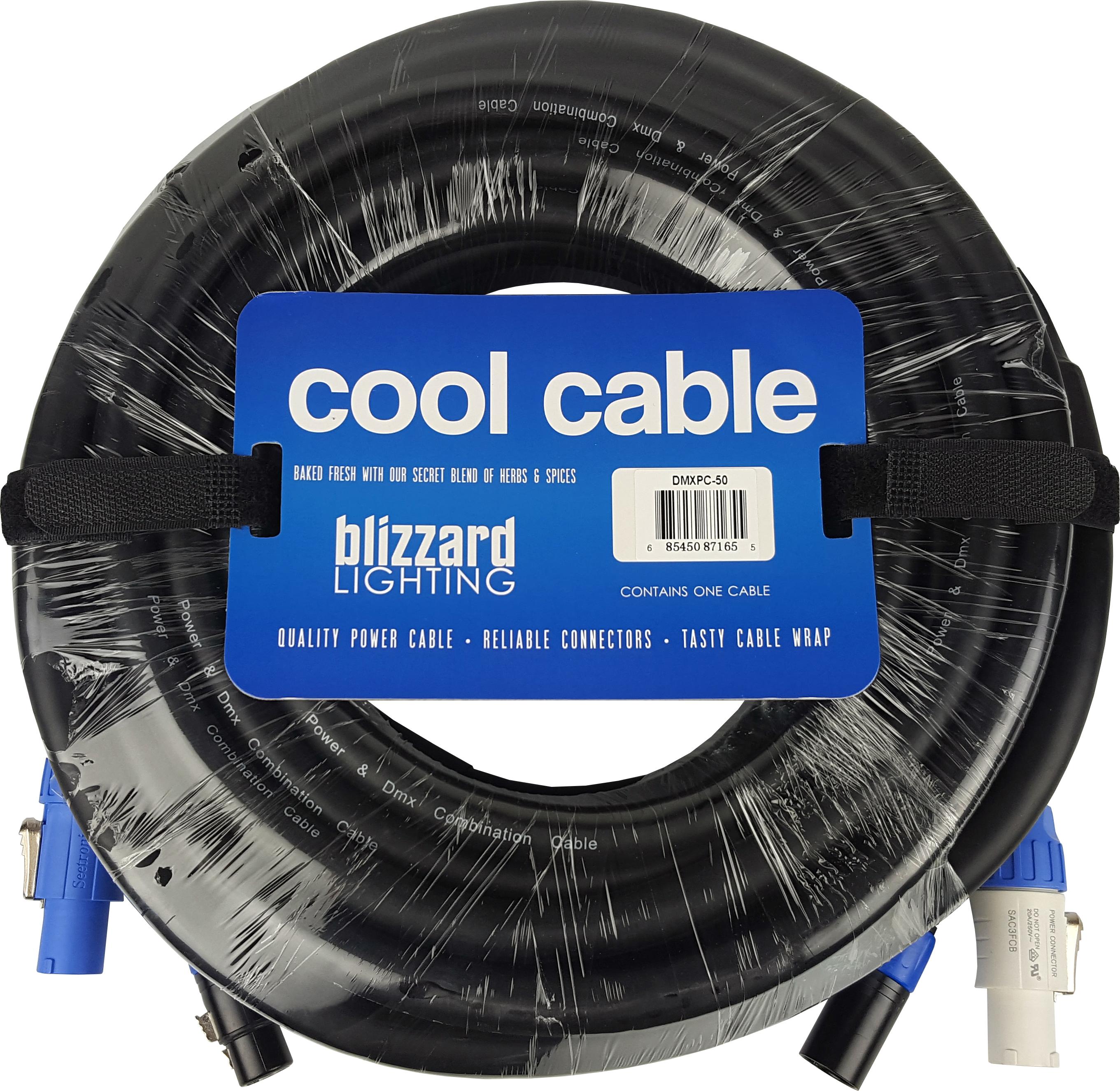 6ft Powercon Blizzard Lighting DMX5PC-6 Black