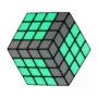 Squarodox-3D – Green Pattern